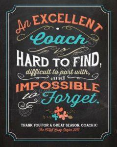 excellent coach ou bon coach