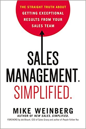 mike weinberg sales management simplified