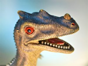 les dinosaures de la vente