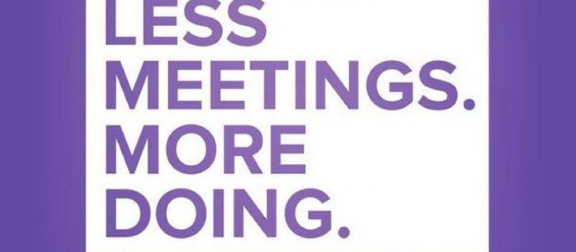 Une réunion est un acte grave