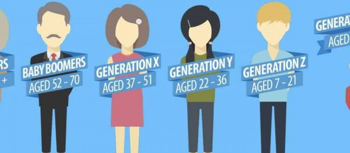 recrutement commercial génération y vs génération x